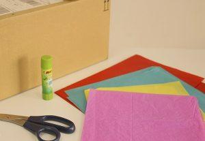 como hacer piñatas de carton 2