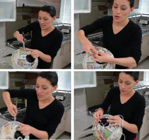 como hacer piñatas navideñas 5