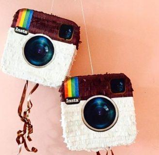Como hacer piñatas modernas de símbolos de internet