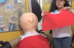 Como hacer piñatas navideña de Santa Claus