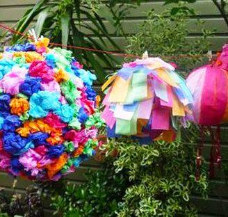 Como hacer piñatas para cumpleaños de forma sencilla.