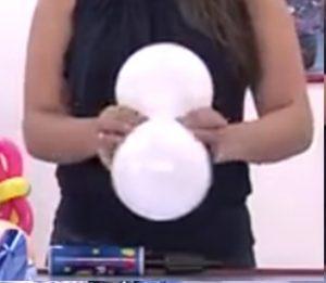 como hacer una piñata de globos 1
