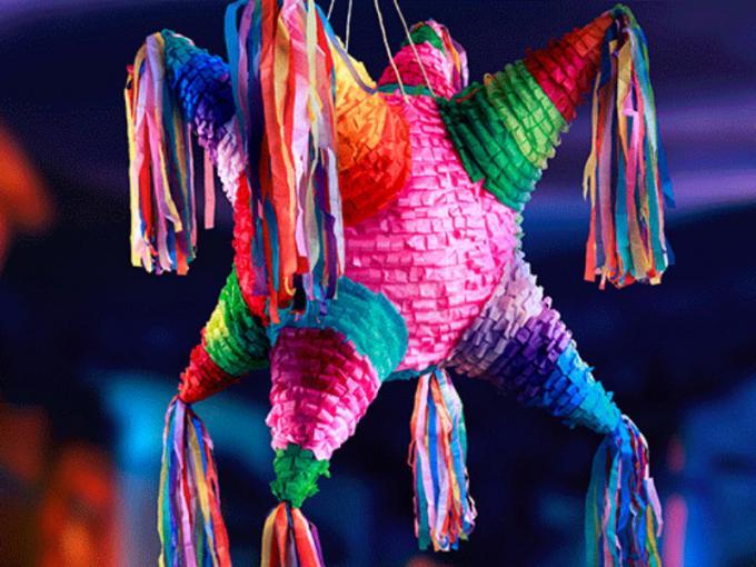 Como hacer pi atas artesanales mexicana en simples pasos - Como hacer puff artesanales ...