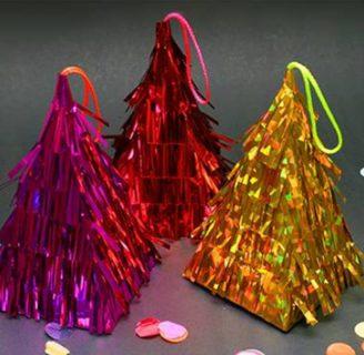 Como hacer piñatas chiquitas con forma de piramide
