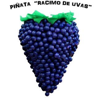 Como hacer piñatas con cascarones de huevo en forma de racimo de uvas