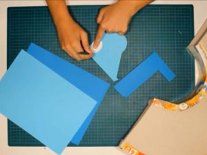 como hacer piñatas con tiras de carton 10