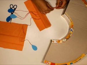como hacer piñatas con tiras de carton 12