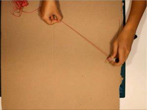 como hacer piñatas con tiras de carton 2