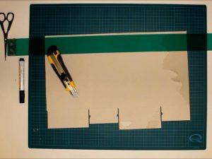 como hacer piñatas con tiras de carton 5