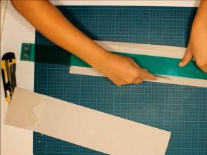 como hacer piñatas con tiras de carton 6