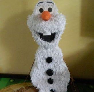 Como hacer piñatas de Frozen rapida y divertida