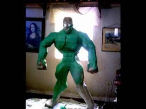 como hacer piñatas de hulk 6