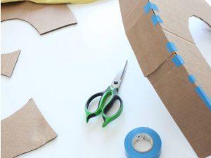 como hacer piñatas de numeros 4