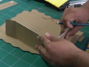 como hacer piñatas de personajes paso a paso 2