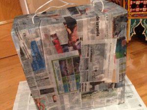 como hacer piñatas de personajes paso a paso 3