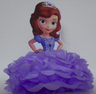 Como hacer piñatas de Princesa Sofía paso a paso.