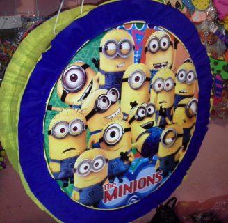 Como hacer piñatas de tambor, con muchos colores.