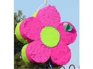 como hacer piñatas en forma de flor 11
