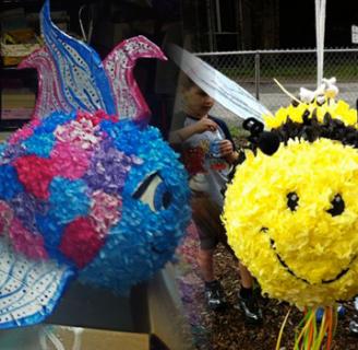 Como hacer piñatas para niños fáciles y bonitas variadas.