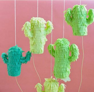 Como hacer piñatas pequeñas con formas divertidas