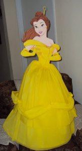 como hacer una piñata de princesa