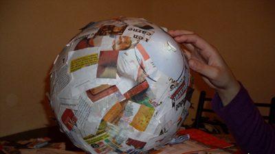 Como hacer una pi ata redonda con forma de bal n for Como hacer criadero de truchas