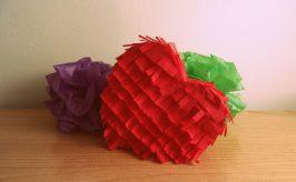 Cómo hacer piñatas con cartulina caseras en sencillos pasos