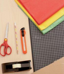 Materiales para una piñata grande