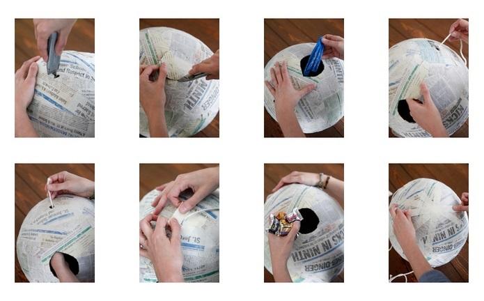 Cómo Hacer Piñatas Pintadas A Mano Práctico Y Divertido