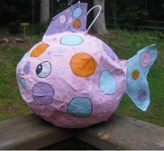 Cómo hacer piñatas pintadas a mano, práctico y divertido