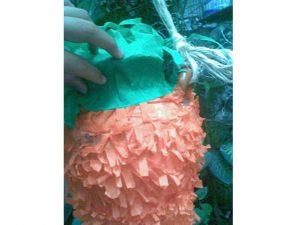 como hacer piñatas de zanahoria 8