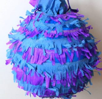 como hacer piñatas sencillas para niños