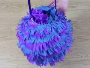 como hacer piñatas sencillas para niños 10