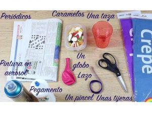 como hacer piñatas sencillas para niños 2