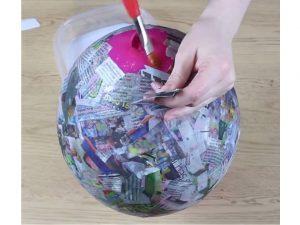 como hacer piñatas sencillas para niños 5
