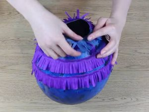 como hacer piñatas sencillas para niños 8