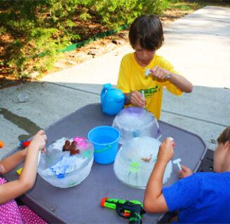 Actividades divertidas de verano para que los niños se mantengan frescos