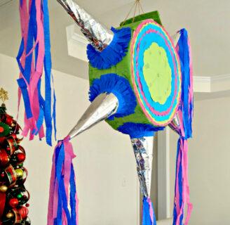Piñata Diy .. ¡Hecho de una caja de cartón!